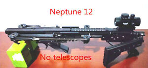 Neptune 12 40bb slingshot rifle pull rubber band bullets and arrows and balls