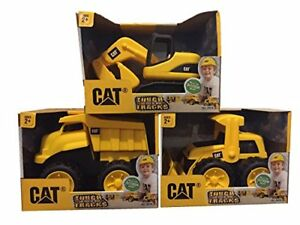 Toy State CAT Tough Tracks Construction Set (Excavator Front-end Loader
