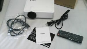 Somek Video Projector 2400 Lumens LED 1080P Full HD Support