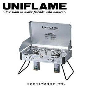 UNIFLAME camp portable 2 stove Burner US-1900 (GAS cartridge is not included)