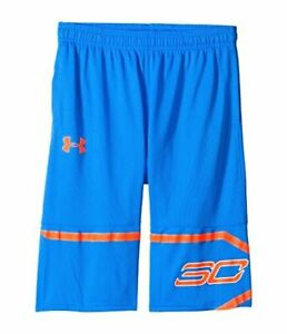 Under Armour Kids Boys Steph Curry 30 Spear Shorts (Big Kids) Mako BlueMagma