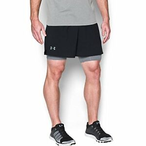 Under Armour Apparel Mens Qualifier 2-in-1 Shorts- Pick SZColor.
