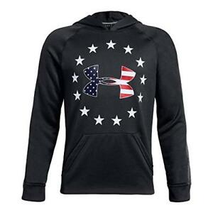 Under Armour Apparel Boys Freedom Tech Terry Hoodie- Pick SZColor.