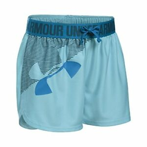 Under Armour Apparel Girls Graphic Play Up Short- Pick SZColor.