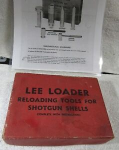 RARE FIND- Vintage LEE LOADER 10 Ga. 2 78