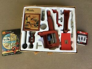 HORNADY PACIFIC 0-7 METALLIC CARTIDGE RELOADING TOOL LOT