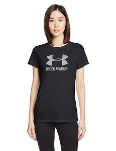 Under Armour Womens Loose Fitness T-Shirt Black S- Pick SZColor.