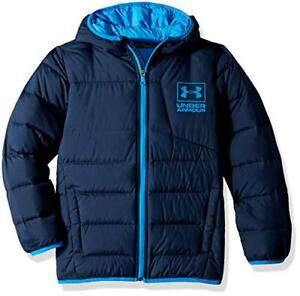 Under Armour Boys Big Swarmdown Hooded Jacket(1416)- Pick SZColor.
