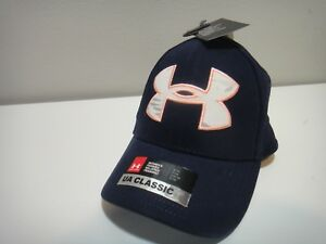Under Armour Womens Classic Fit Hat Dark Blue Snow Camo Pink Size Small