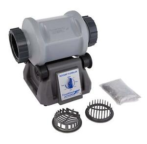Tumbler Rotary Rock and Media Separator 110 Volt Polisher Polishing Cleaning New