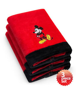 Disney's Mickey & Minnie Mouse Super Absorbent and Soft Fingertip Towel 11
