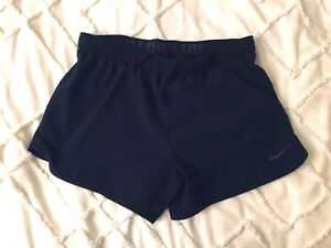 Nike Dry fit lined workout shorts womens small black