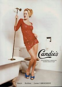1997 JENNY McCARTHY singer for CANDIE#x27;S Magazine Print AD $8.25