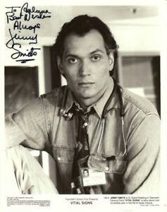 Jimmy Smits 10x8 inch signed photo as Dr David Redding in