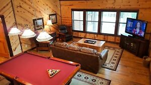 1 Night: Red Dirt Lodge Broken Bow Cabin by RedAwning ~ RA214974