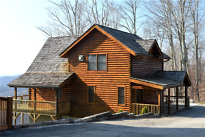 5 Nights: Black Bear Lodge at Scenic Wolf Resort Cabin by RedAwning ~ RA159471