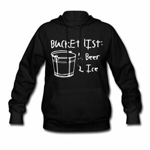 Mans Bucket List Women's Hoodie by Spreadshirt™