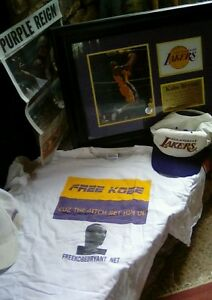 rare KOBE BLACK MAMBA T SHIRT COLORADO INJUSTICE FREE KOBE