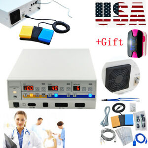 Diathermy Machine Smooth Cut Surgery Precise Electrosurgical Unit+Free Gift Tool