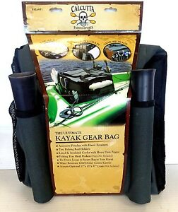 Calcutta Fishing Kayak Gear Bag BR56491 - Cooler Gear Bag with Rod Holders - NEW