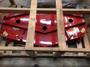 Exmark FMD603 Mower Deck SHELL AND DECALS ONLY Still In Crate 1-612149 612149