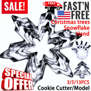 Cookie Biscuits Cutter Mold Kit Stainless Steel Different shapes and sizes US