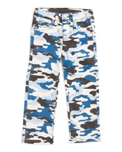 True Religion Boys Camo Straight Jeans sz 6 $19.90