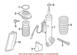 For BMW Genuine Shock Absorber Rear Right 37126796944