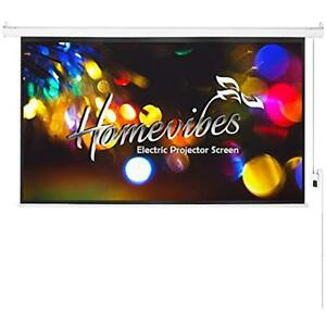 100 Projection Screens Inch 169 Projector Electric Motorized Portable Movie For