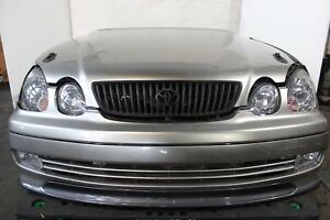 JDM 98 05 TOYOTA GS300 ARISTO NOSE CUSTOM HOOD FRONT LIP JDM GS300 FRONT END