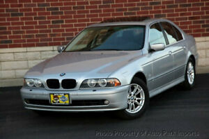 2003 BMW 5 Series 525iA 2003 BMW 525i 1 Owner Leather Heated Seats Sunroof CD Player Alloy Wheels Clean