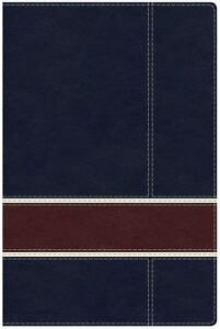 Military Families Bible NavyCrimson LeatherTouch [  ] Used - Good