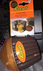 Reese's Peanut Butter Lava Cake Maker Microwave Cupcake Holder by Evri BPA Free
