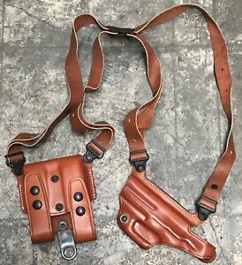 GALCO Miami Classic Tan Leather Shoulder Holster for Sig Sauer P226 226