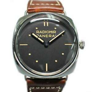 Free Shipping Pre-owned PANERAI Radiomeal 3DAYS Limited 750 Hand-Winding