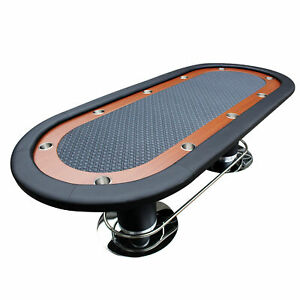 IDS Poker Table 10 Player WRacetrack-Holder-Playing Card-96x43x30