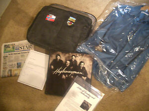 JOHNNY CASH Signed Memorabilia ESTATE PSADNA GEM MINT 10 Black BRIEFCASE SHIRT