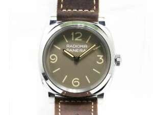 Free Shipping Pre-owned PANERAI Radio Meal 1940 3 Days Attaio PAM00662