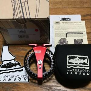 Lamson Waterworks P1 Purist Fly Fishing Reel Excellent condition Japan Limited