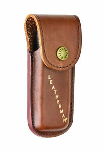 Leatherman Leather Case Sheath Pouch for Rebar  Sidekick  Wingman  Rev - Brow