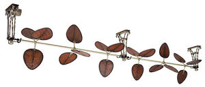 Fanimation Palmetto Ceiling fan Antique Brass - FP602AB