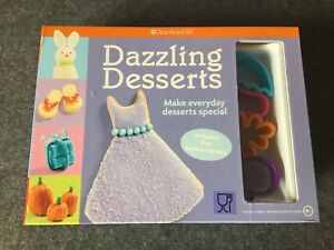 American Girl Dazzling Desserts: Make Everyday Desserts Spe w Cookie Cutters NEW