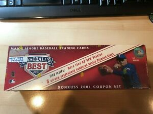 2001 Donruss Baseball's Best Factory Sealed Bronze Set 417999 Ichiro