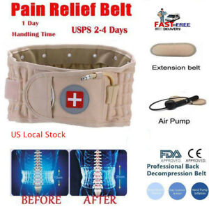 Latest Dr Ho's Decompression Belt Back Brace Lumbar Extender Support Pain Relief
