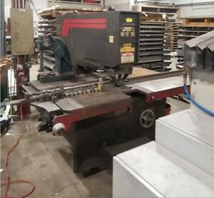 Strippit Super 3040 Hydraulic  Turret Punch with lots of tooling