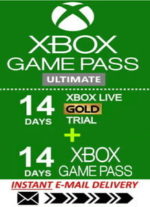 Xbox LIVE 14 Day GOLD 14 day Game Pass XBOX GAME PASS ULTIMATE Instant Code $3.79