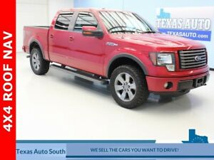 2012 F-150 FX4 2012 Ford F-150 FX4 128204 Miles Red Candy Metallic Tinted Clearcoat 4D SuperCre
