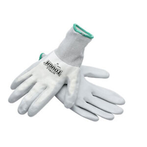 The Super Grip Glove Medium Nitrile Coated Great For Cutting Glass $8.38