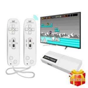 USB Wireless Handheld TV Video Game Console Build In 620 Classic 8 Bit Console