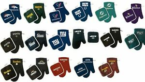 NFL Oven Mitt and Pot Holder Set bbq tailgating Pick Your Team